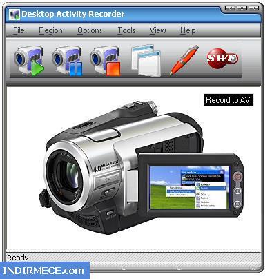 Desktop activity recorder ekran görüntüsü