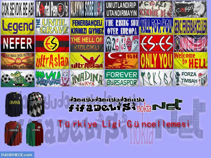 Net fifa 2010 türkiye ligi grafik güncellemesi ekran görüntüsü